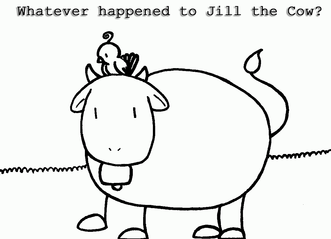 Whatever happened to Jill the Cow?-Cover