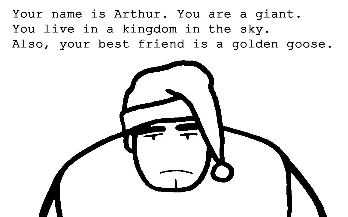 Meet Arthur the Giant