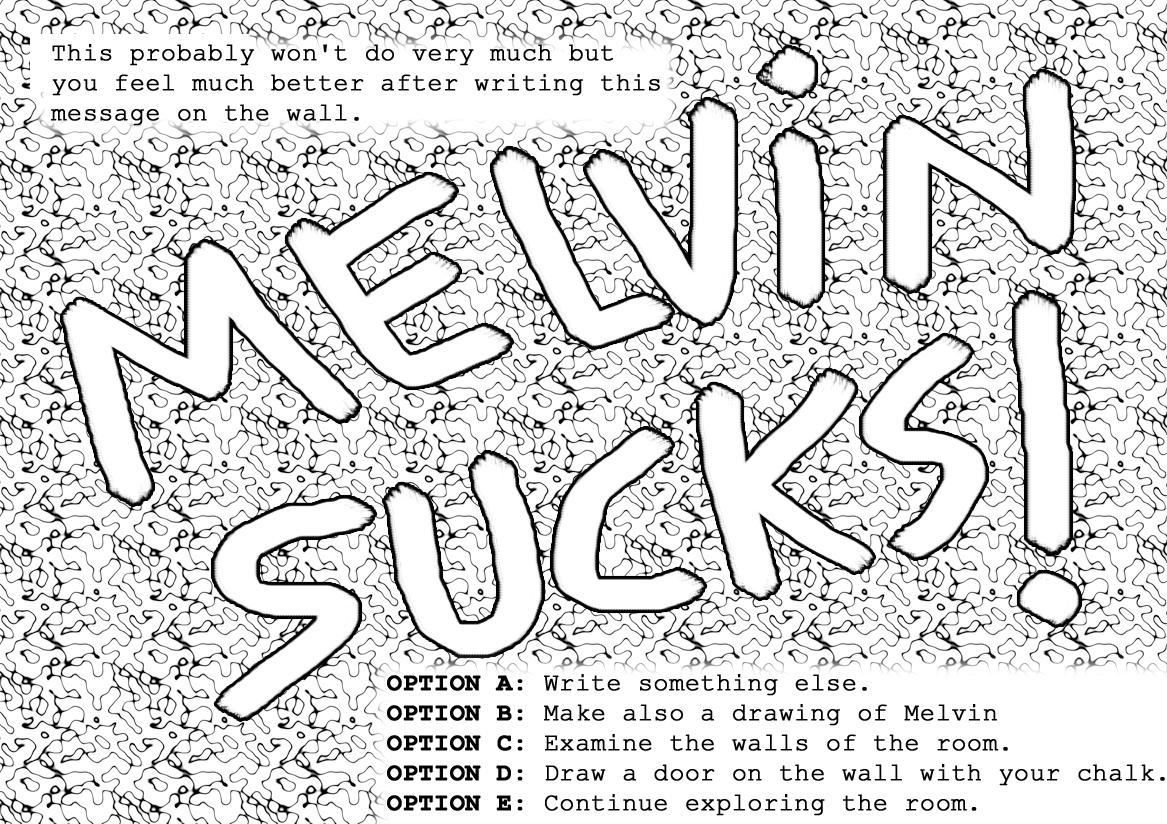 Melvin Sucks