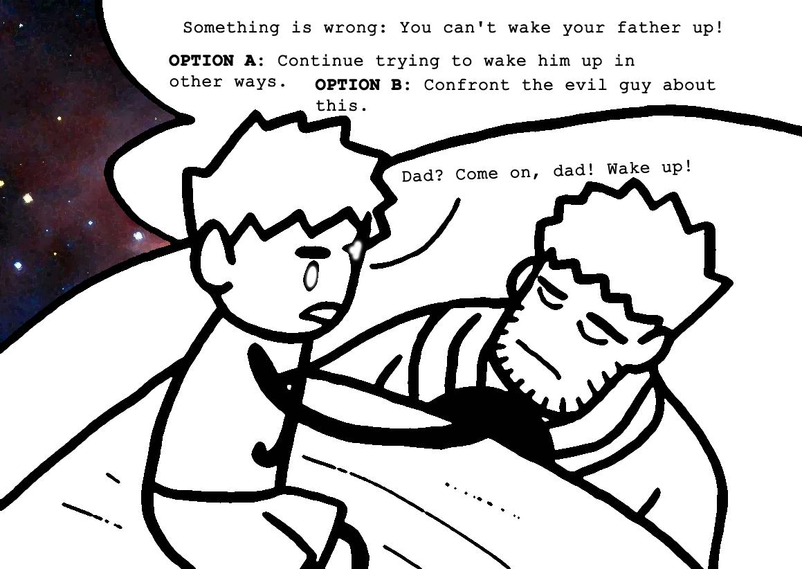 ...Dad?